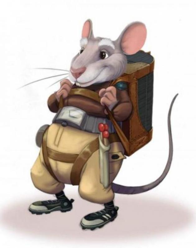 Мышь ленивая