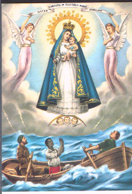 The Virgin of Charity of Copper