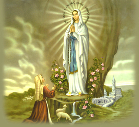 The Virgin of Lourdes