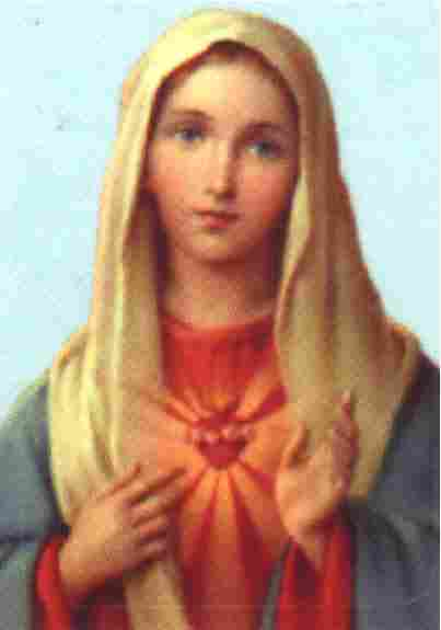 The Virgin of the Sacred Heart