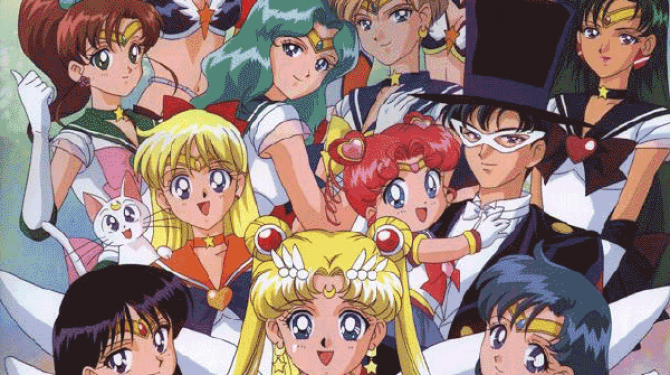Os melhores casais de Sailor Moon