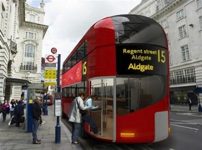 Новый дизайн автобуса Лондон (Великобритания)