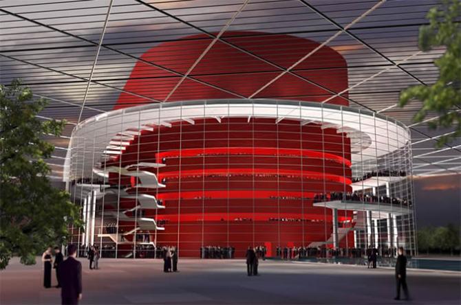 Оперный театр Уинспир в Далласе (США)