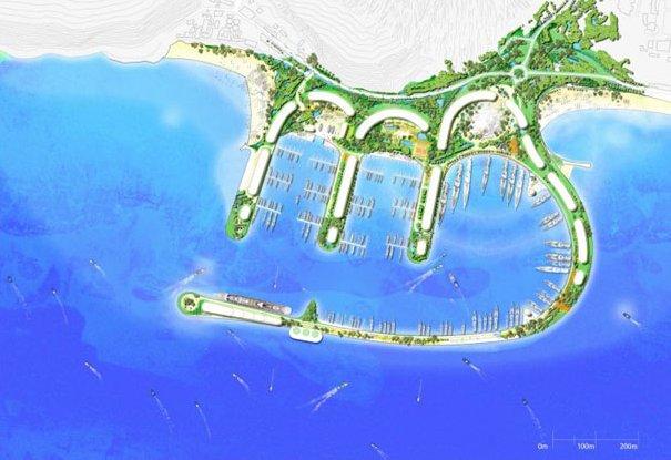 Суверенный залив Генеральный план Гибралтара (Великобритания)