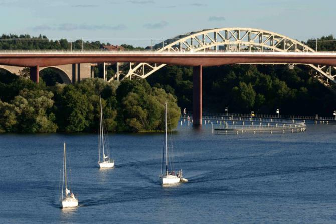 Стокгольмский мост Арста (Швеция)