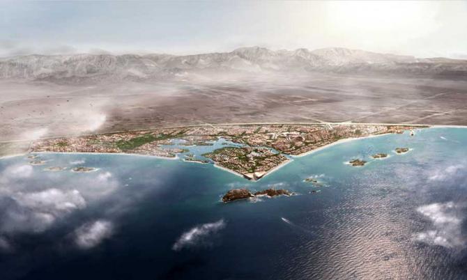Генеральный план Голубого города (Оман)