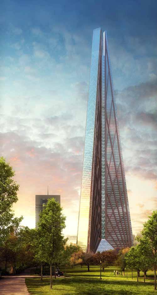 Русская башня в Москве (Россия)