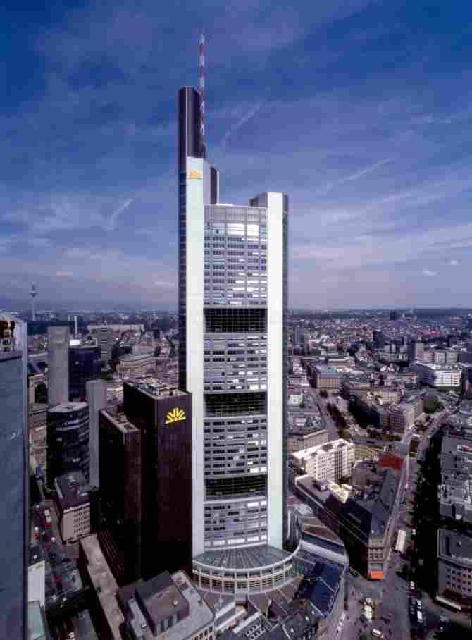 Commerzbank Frankfurt Main Offices (Germany)
