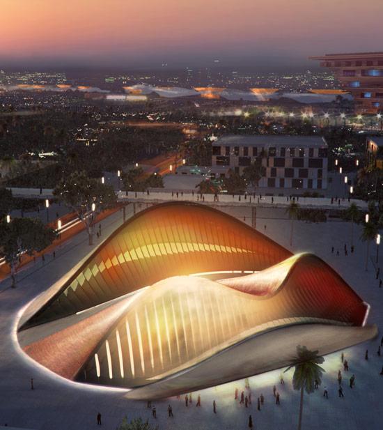 Павильон ОАЭ для Expo Shanghai 2010 (Китай)