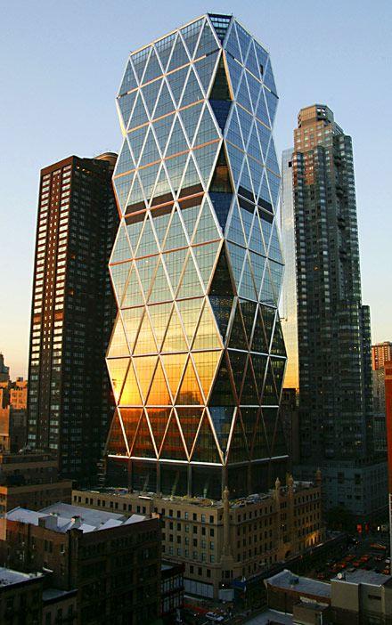 Штаб-квартира Hearst в Нью-Йорке (США)