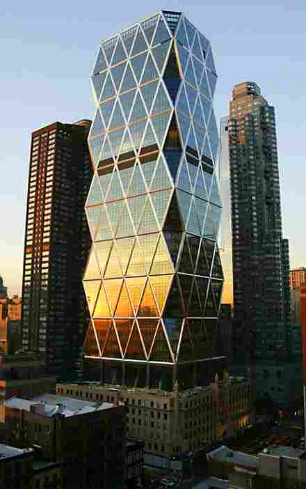 Hearst Headquarters of New York (USA)