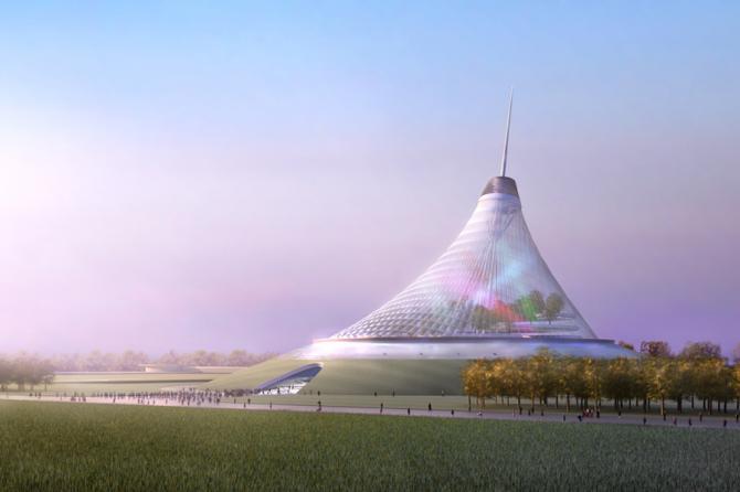 Khan Shatyry Entertainment Center in Astana (Kazakhstan)