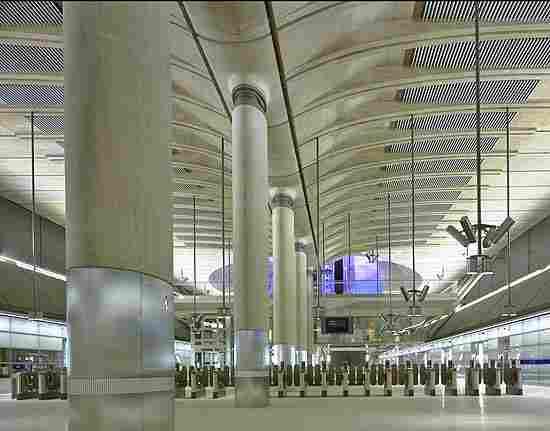 London Canary Wharf underground station (UK)