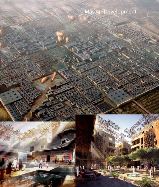 Masdar Masterplan, Абу-Даби (ОАЭ)