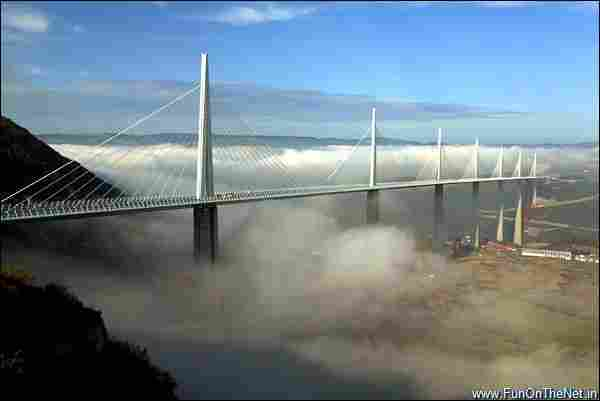 Millau Viaduct (France) - The tallest bridge in the world