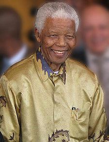 Nelson Mandela (1918 - até o momento)