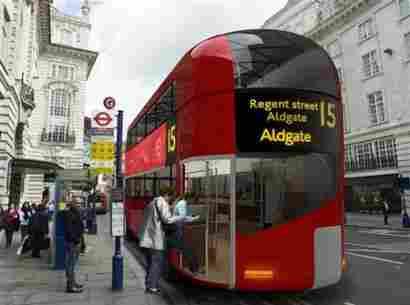 New London bus design (UK)