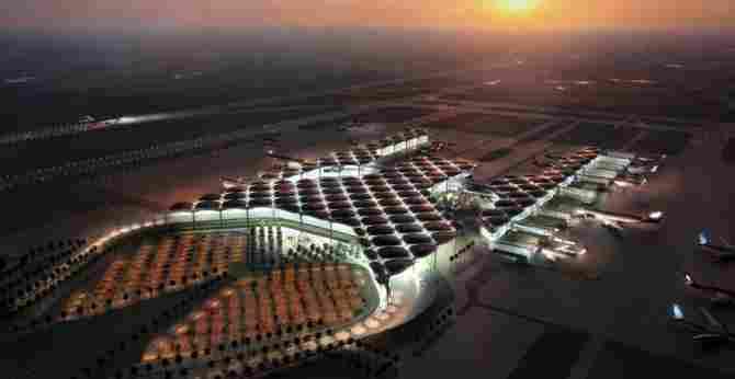 Queen Alia International Airport of Amman (Jordan)