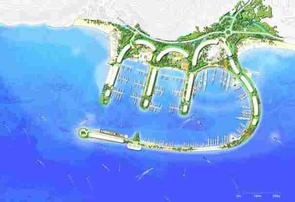 Sovereign Bay Masterplan of Gibraltar (UK)