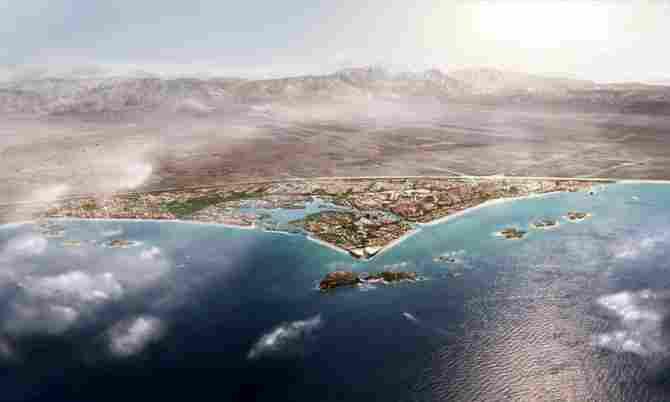 The Blue City Masterplan (Oman)