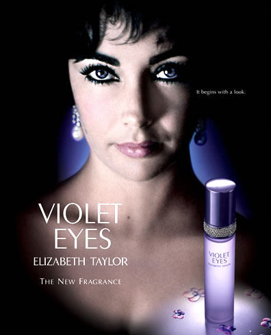 8. It was his followers on Twitter who named his fragrance: Violet Eyes.