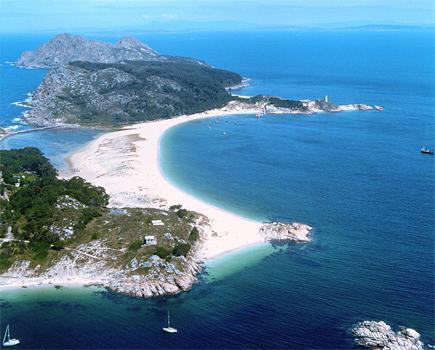 หมู่เกาะ CIES (Rias Baixas, Pontevedra)
