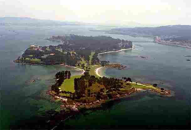 KEPADA TOXA (Pulau La TOJA, Pontevedra)
