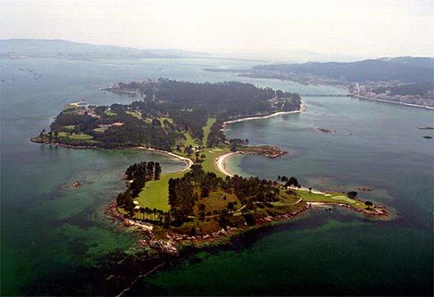 TO TOXA (île de la TOJA, Pontevedra)