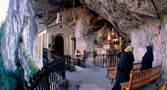 Санта-Куева-де-Ковадонга (Астурия)