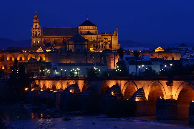 Мечеть и римский мост в Кордове