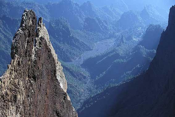 Ла Кальдера де Табуриенте Национальный парк (Ла Пальма)