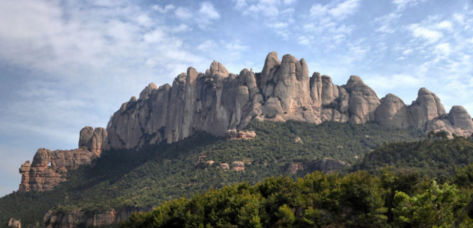 Гора Монтсеррат (Барселона)
