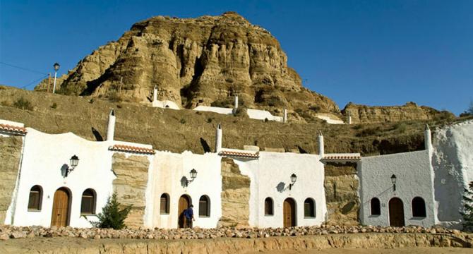 Пещеры Гуадикс (Андалусия)