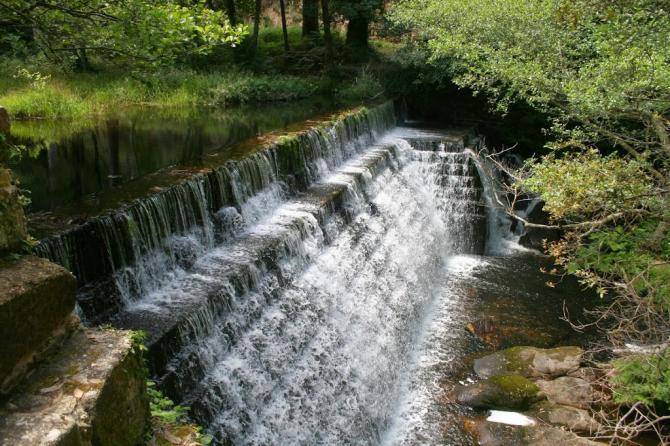 Река Ксунко, Черво (Галисия)