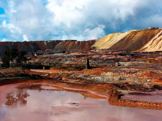 Rio Tinto Mines (Уэльва)