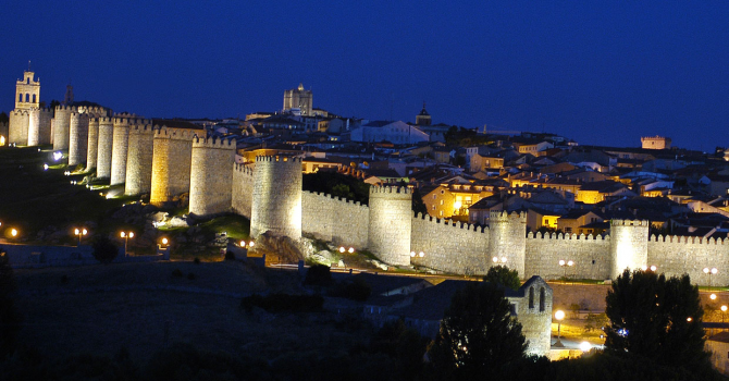 The Walls of Ávila