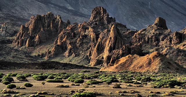 Долина Ucanca, Национальный парк Тейде (Тенерифе)