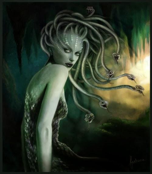 Gorgones ou méduse