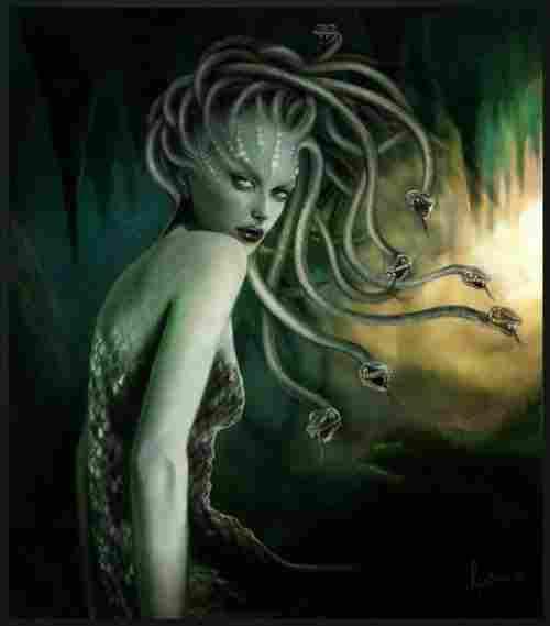 Gorgons or Medusa