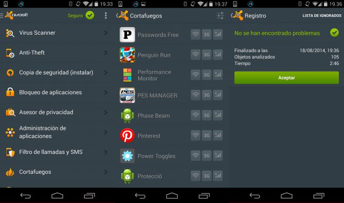 Mobilsäkerhet och antivirus - AVAST