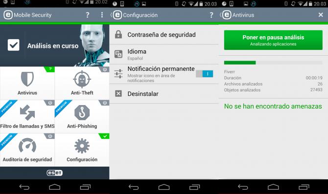 Mobilsäkerhet och antivirus - ESET