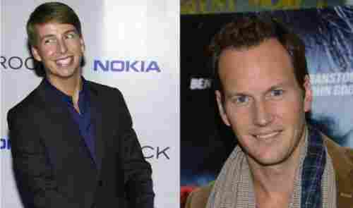 Jack McBrayer and Patrick Wilson (1973, 40 years old)