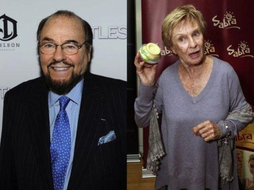 James Lipton and Cloris Leachman (1926, 87 years old)