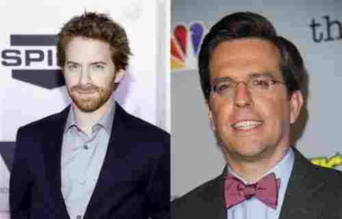 Seth Green and Ed Helms (1974, 39 years old)