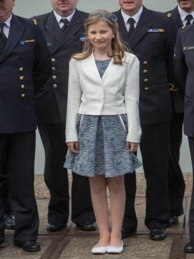 (10) Princesa Isabel de Bélgica, duquesa de Brabante