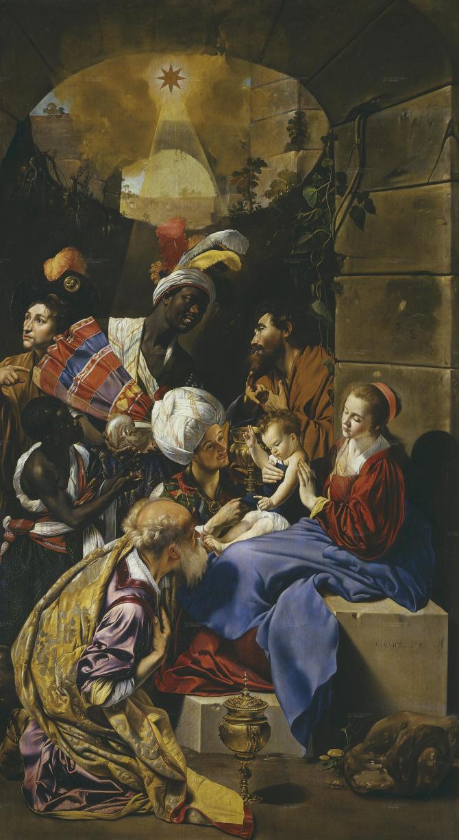 Поклонение королей (Майно, Фрай Хуан Баутиста)