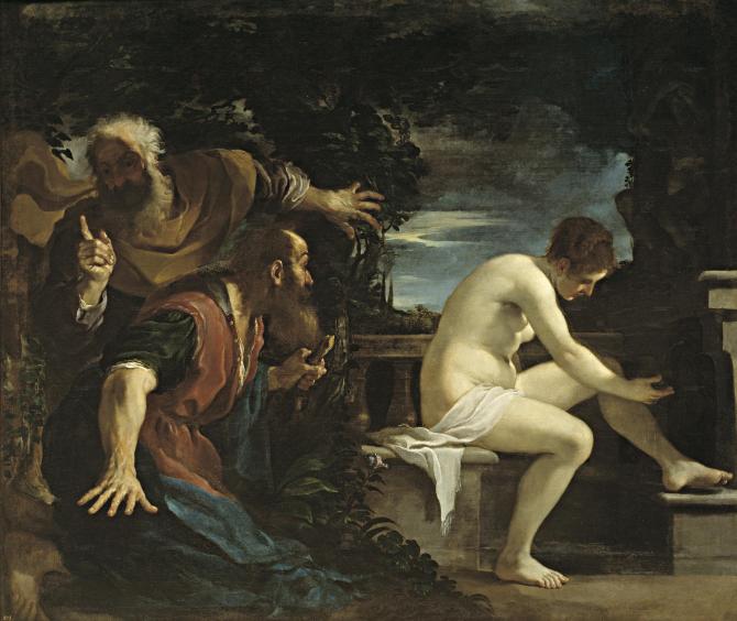 Сусана и старики (Гверчино)