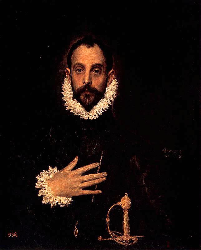 Рыцарь с рукой на груди (Эль Греко)