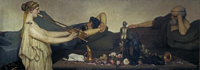 Помпейская сцена, или Сиеста (Альма Тадема, сэр Лоуренс)