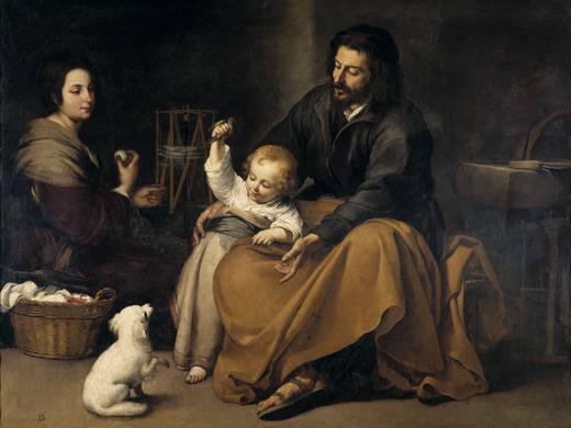 Святое Семейство Маленькой Птицы (Мурильо)